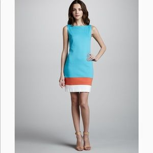 Trina Turk Cheers Colorblock Shift Dress